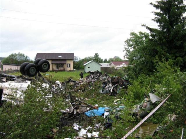 Авиакатастрофа Ту-134 в Петрозаводске
