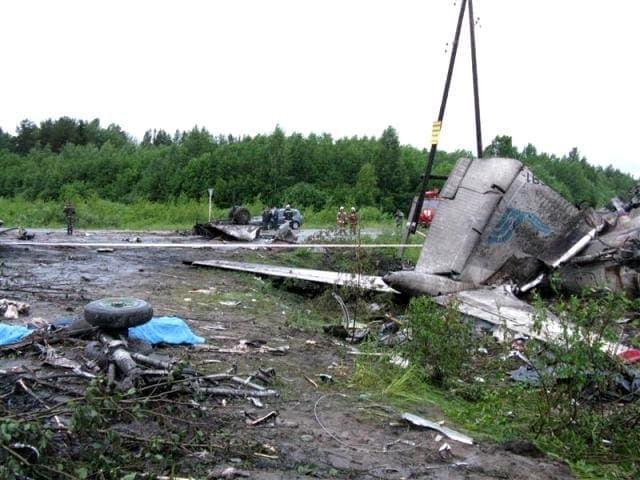 Трагедия Ту-134