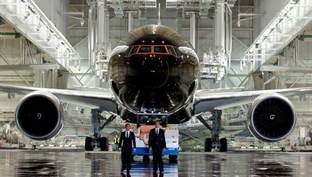 Boeing-777-300 авиакомпании Air New Zealand