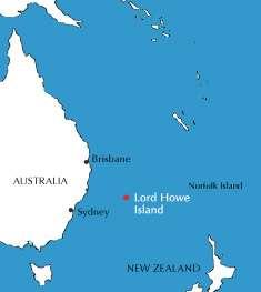 Карта острова Лорд-Хау