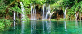 """Фото национального парка """"Плитвицкие озера"""" в Хорватии"""