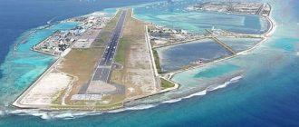 Аэропорт в океане (Мальдивы, Male)