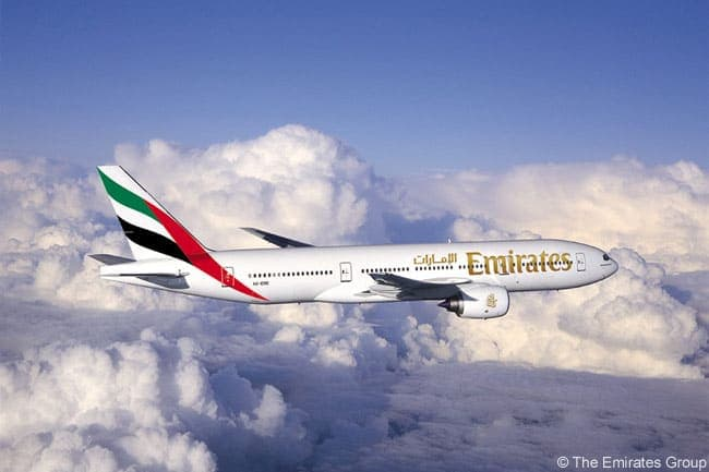 Флот авиакомпании Emirates Airline