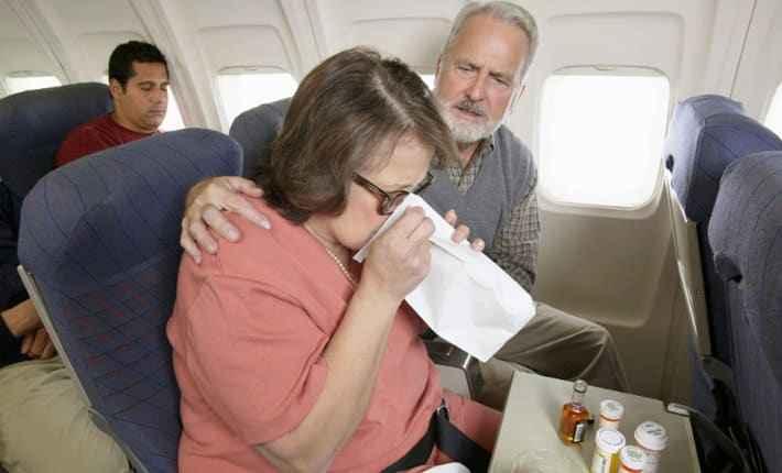 Тошнит в самолете
