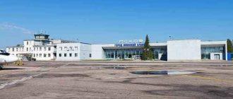 Аэропорт Пскова