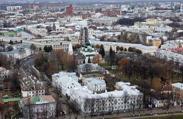 Интересные места Ярославля