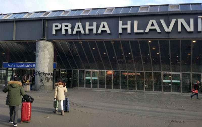 Вокзал в Праге
