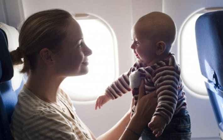 Как летать с детьми в самолете