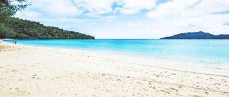 Береговая линия пляжа Три Транг