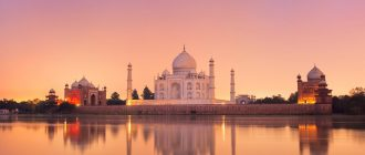 taj mahal india evening agra uttar pradesh 512710 2560x1600